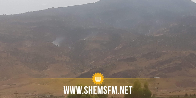 القصرين: اندلاع حريق بالقرب من المنطقة العسكرية المغلقة