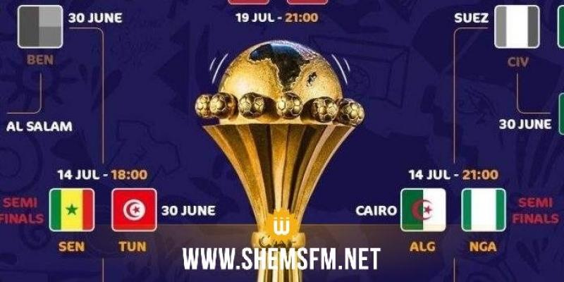 CAN 2019 : le programme des demi-finales
