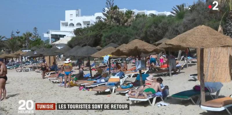Reportage France2 : 'les touristes sont de retour en Tunisie' (vidéo)