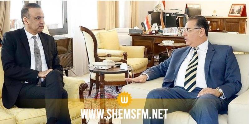 السفير المصري بتونس يعبر عن تمنياته بأن 'تجتاح نسور قرطاج المباراة القادمة'