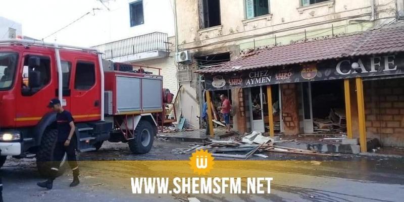 ماطر: انفجار في محل صياغة يُودي بحياة عامل في مقهى مُجاور