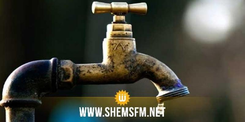 انقطاع واضطراب في توزيع مياه الشرب بعدد من مناطق ولاية سيدي بوزيد