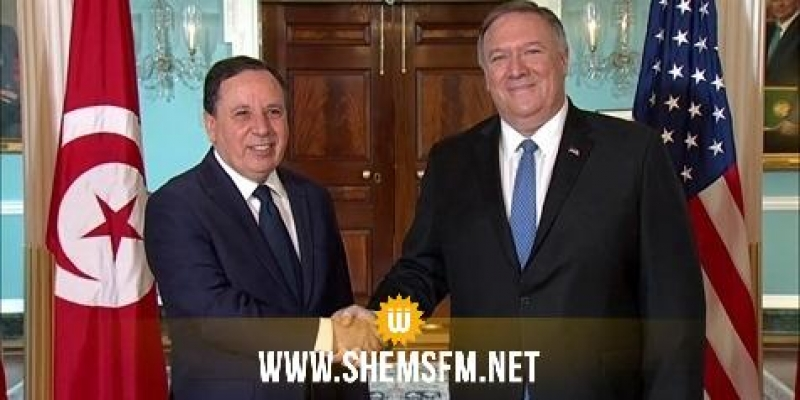 الجهيناوي يترأس مع نظيره الأمريكي أشغال الجولة الثالثة من الحوار الاستراتيجي بين تونس وأمريكا