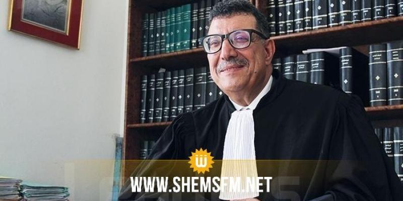 عميد المحامين ابراهيم بودربالة ضيف الماتينال