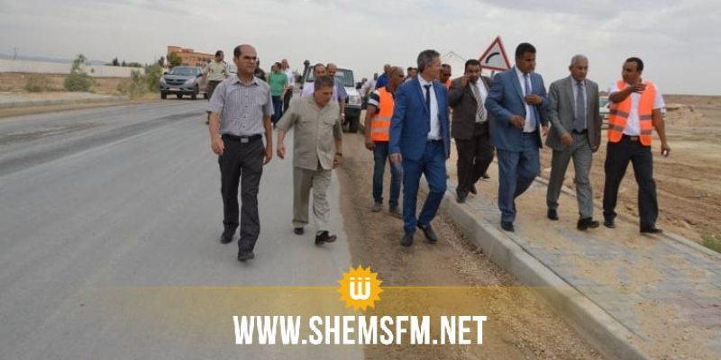 وزير التجهيز: 200 مليون دينار قيمة المشاريع الجاري تنفيذها في سيدي بوزيد