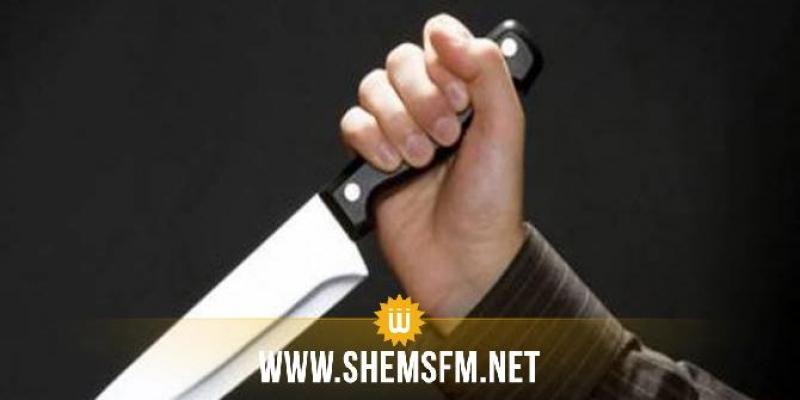 بنزرت: وفاة شخص وإصابة 7 آخرين إثر إعتداء مختل عقلي على عدد من المواطنين بسكين