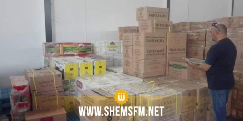 القيروان: المراقبة الإقتصادية تحجز 5300 لتر من الزيت وأطنان من الفرينة والسكر (صور)