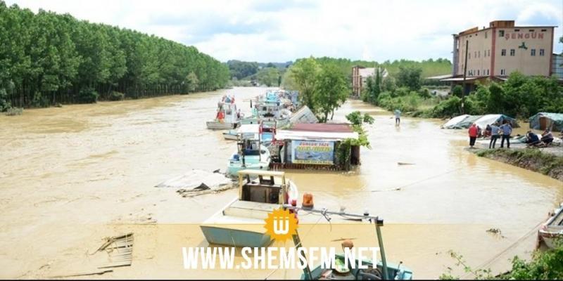 تركيا.. وفاة شخص وفقدان 6 أشخاص جراء الفيضانات