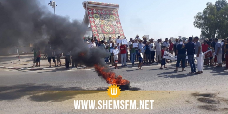 سيدي بوزيد: مسيرة في لسودة ضد تركيز مصب نفايات