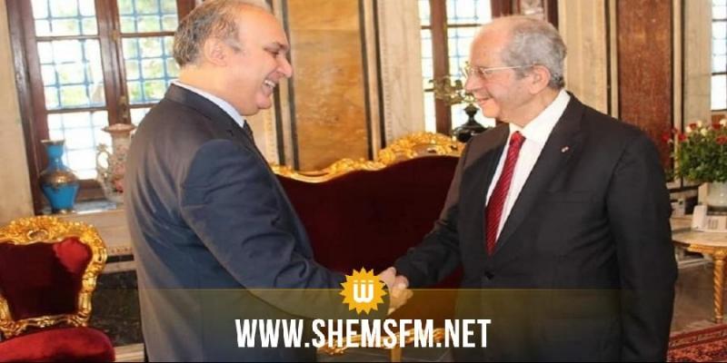 الناصر يؤكد دعم البرلمان لجهود هيئة الانتخابات من أجل إنجاح الاستحقاقات المقبل