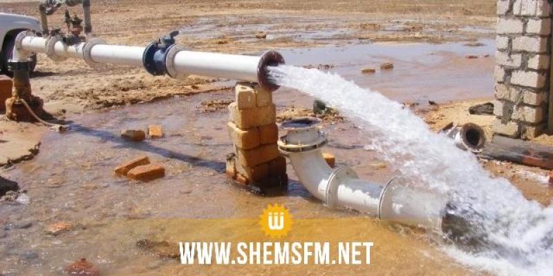 قابس: إيقاف محتجين لمحطة الضخ بشط الفجيج يتسبب في اضطراب توزيع مياه الشرب بعدة مناطق