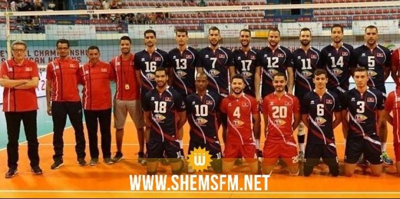 'كان' الكرة الطائرة: تونس تحقّق فوزها الثّاني