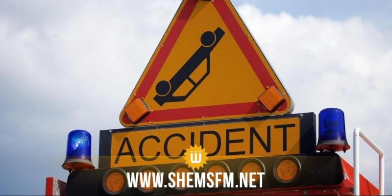 قفصة: حادث مرور يخلف وفاة شخصين و إصابة 3 آخرين