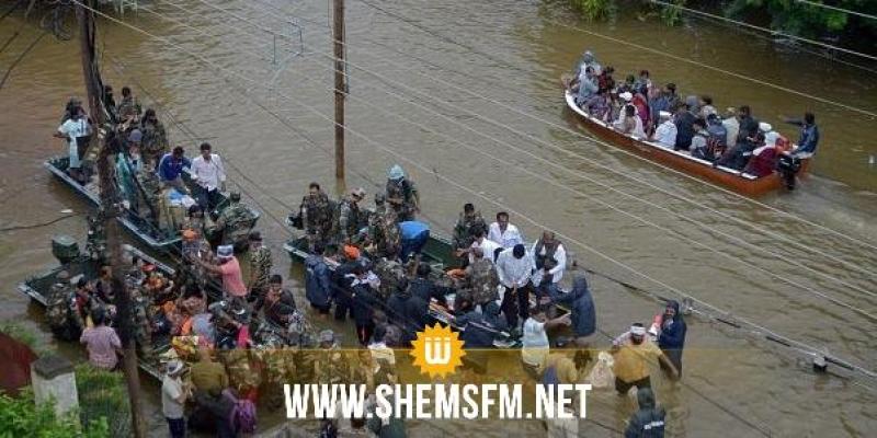 184 قتيلا وإجلاء نحو مليون شخص في الهند بسبب الفيضانات