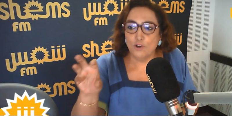 Bochra Belhaj Hmida : 'une grande majorité des partis politiques s'est avérée rétrogrades et arriérés'