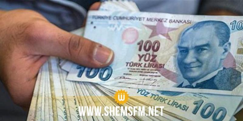 الليرة التركية تهبط أكثر من 1 بالمائة