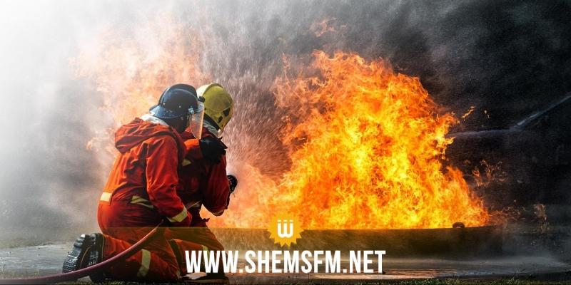 السيطرة على 95 % من الحريق الذي جد الثلاثاء بجبل عمار بسيدي ثابت