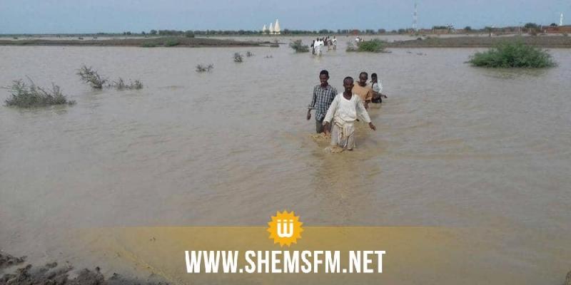 فيضانات في السودان.. 7 قتلى والمياه تغمر المنازل