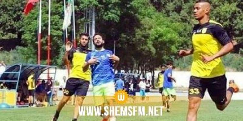 إصابة في الأربطة المتقاطعة للاعب النادي البنزرتي خليل ساسي