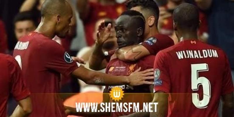 ليفربول يتوج بلقب كأس السوبر الأوروبية