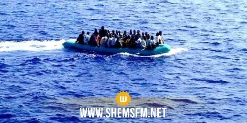 البحرية الليبية: إنقاذ 278 مهاجرا غير نظامي