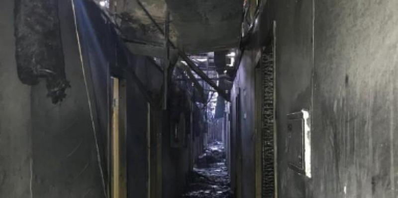 وفاة 8 أشخاص في حريق بفندق في أوكرانيا