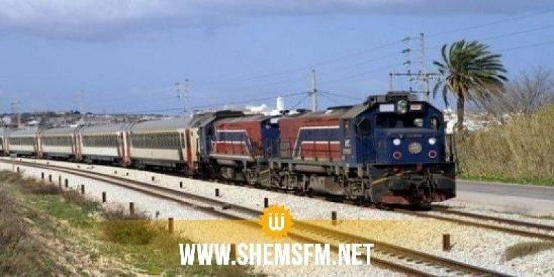 الكريب: خروج قطار عن السكة