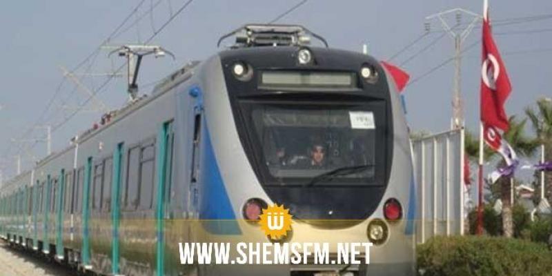 شركة السكك الحديدية تقرر الحفاظ على كافّة السفرات المبرمجة بين تونس والمنستير
