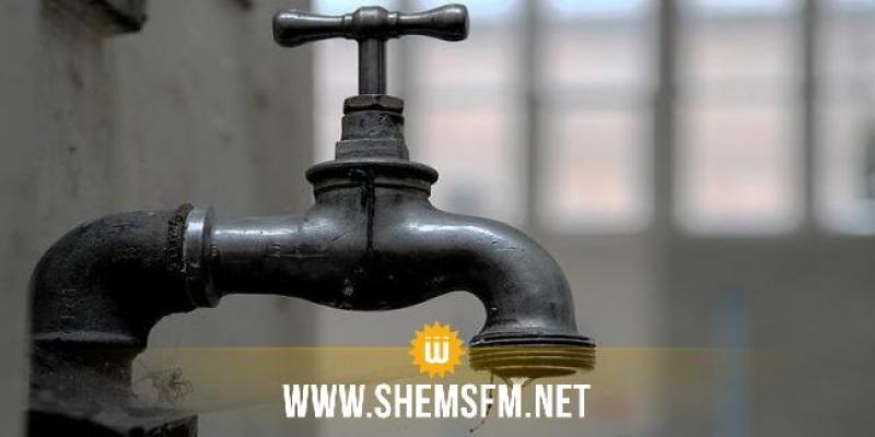 تسجيل اضطراب وانقطاع في توزيع الماء بقرطاج والكرم وحلق الوادي