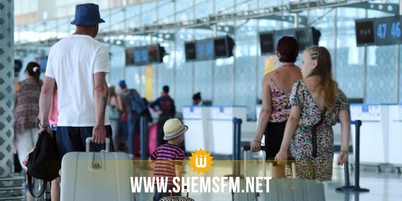 تطور عدد السياح الوافدين على تونس بنسبة 12،8 بالمائة إلى موفى جويلية 2019