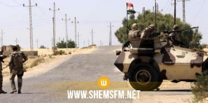 مصر: القضاء على 11 إرهابيا في سيناء