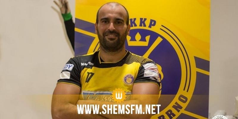 خاص-عاهد بالرحومة: 'أنا أول لاعب كرة يد تونسي يحترف في الممتاز التشيكي واتصالي بفريقي كان بالماسنجر'