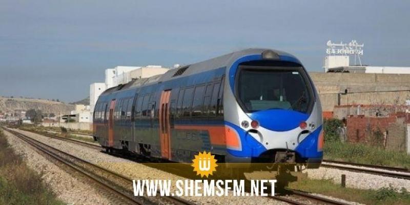 القلعة الكبرى: مسافرو قطار سوسة تونس يحتجون ضد الـتأخير