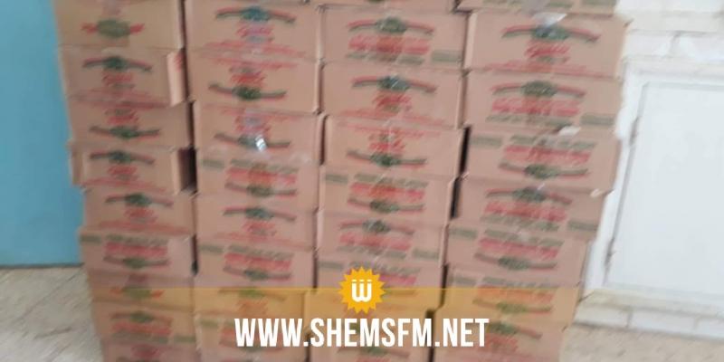 سيدي بوزيد:  حجز 1440علبة طماطم