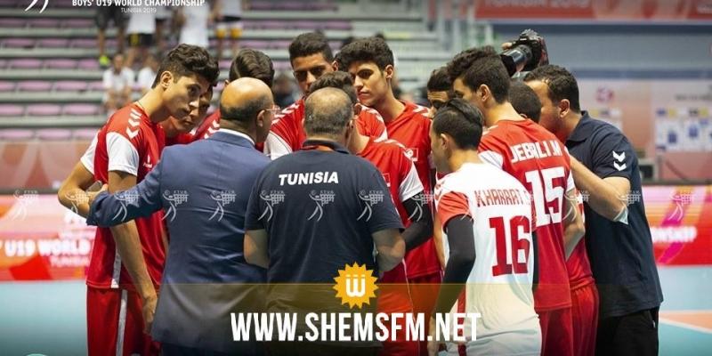 مونديال الطائرة تحت 19 عاما: المنتخب التونسي يحقق فوزه الأول بتخطيه نظيره البيلاروسي