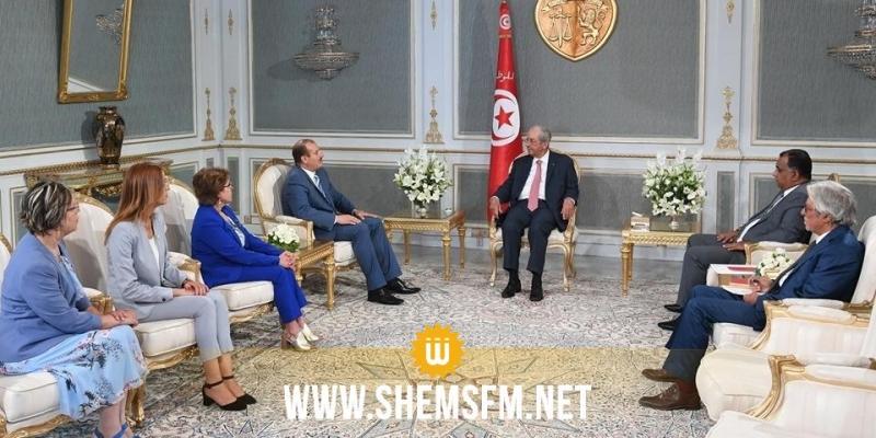 الناصر يلتقي وفدا عن المكتب التنفيذي لجمعية القضاة