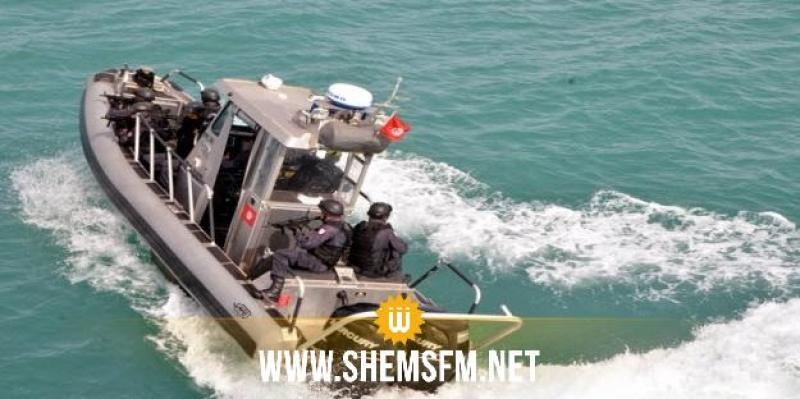 جرجيس: جيش البحر ينقذ 18 مهاجرا أبحروا من ليبيا