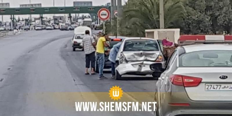 من بينها تصادم 5 سيارات وهبوب رياح لولبية: حوادث بالجملة اليوم في ولاية نابل
