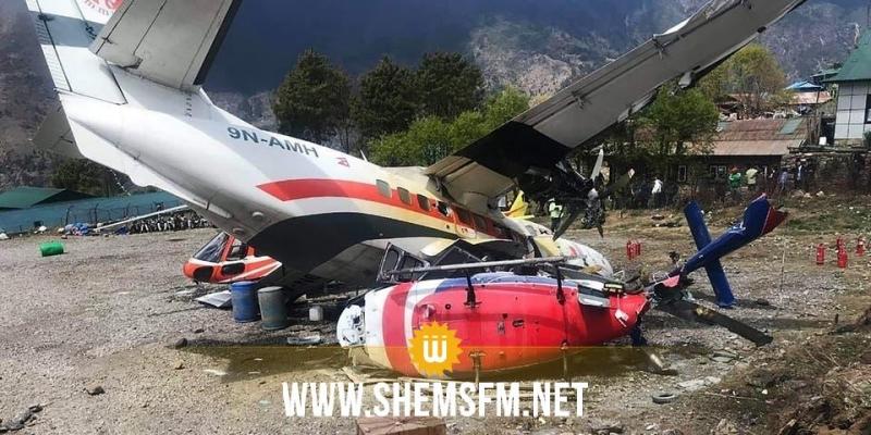 اسبانيا: 7 قتلى في اصطدام طائرة بمروحية