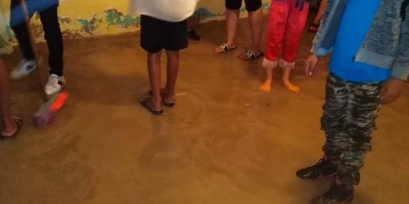 القصرين: مياه الأمطار تغمر بعض المنازل في جدليان