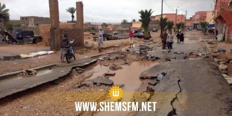 Inondation au Maroc: au moins 7 morts sur un terrain de foot