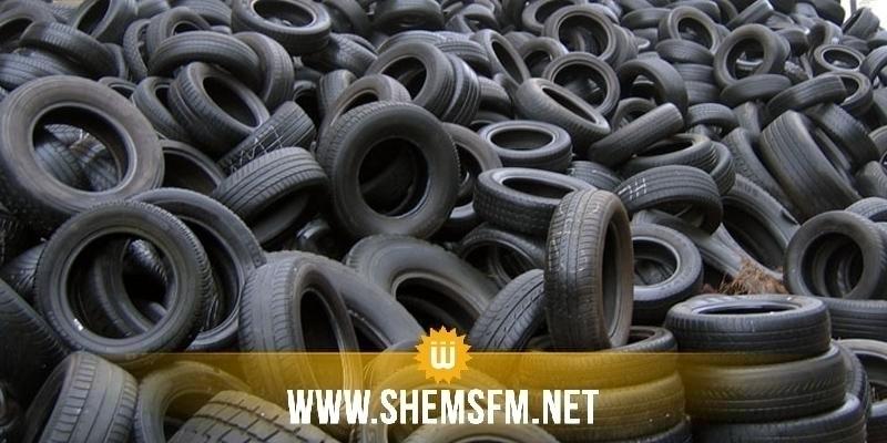 Bouhajla : saisie de 1000 pneus en caoutchouc