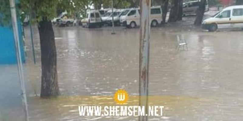 Tabarka : plusieurs routes coupées à cause de la pluie