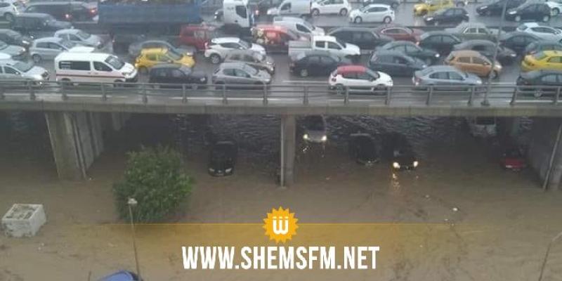 الداخلية: إستئناف حركة المرور بأغلب الطرقات بإقليم تونس الكبرى