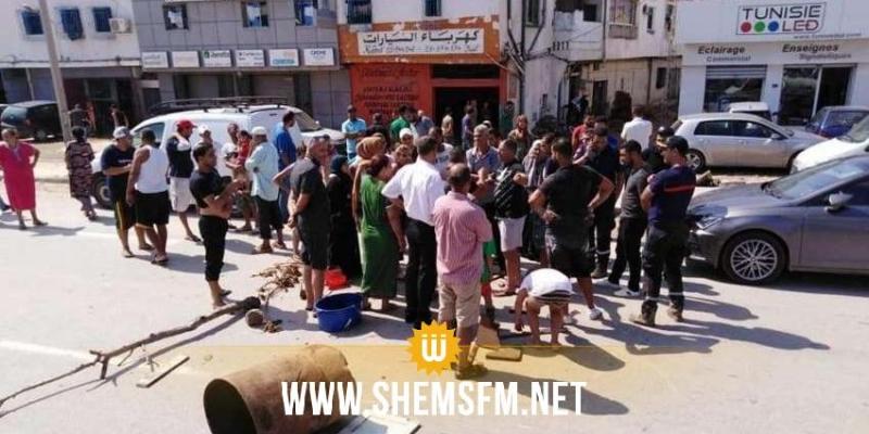 الناطق الرسمي لوزارة الداخلية ينفي غلق الطريق الوطنية عدد 8 من قبل محتجين وينفي حدوث اشتباكات