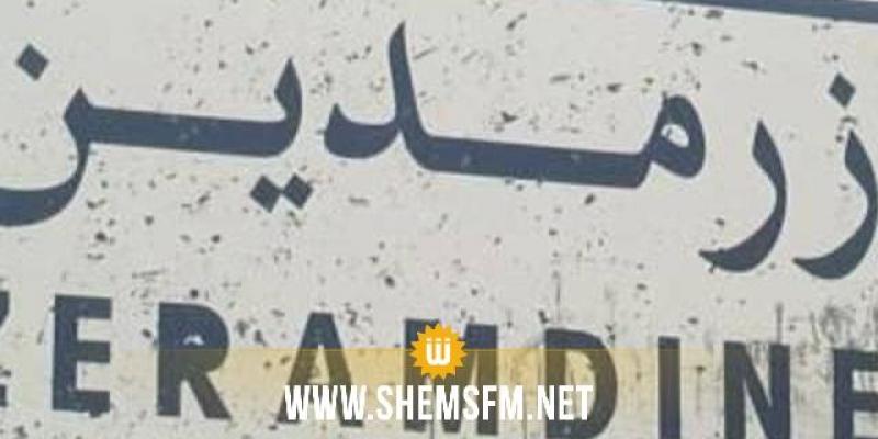 زرمدين: عمال مصنع الآجر يغلقون الطريق ويعتصمون بالمعتمدية