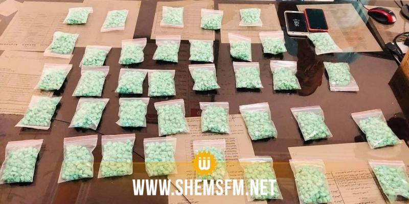 سوسة: الإطاحة بعصابة ترويج مخدرات بحوزتهم 4000 قرص مخدر