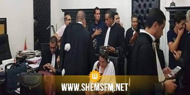 الداخلية : وكيل الجمهورية بمحكمة تونس هو من طلب تدخل الوحدات الأمنية لإخلاء مكتبه من المحامين المعتصمين