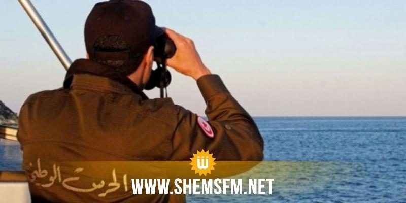 المهدية: الحرس البحري ينقذ 26 مهاجرا تونسيا تعطل مركبهم في البحر