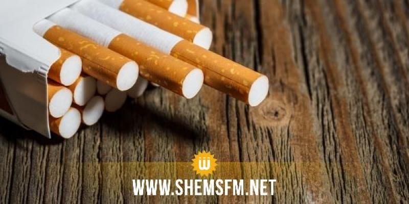 العاصمة: حجز 3120 علبة سجائر بقيمة 17 الف دينار